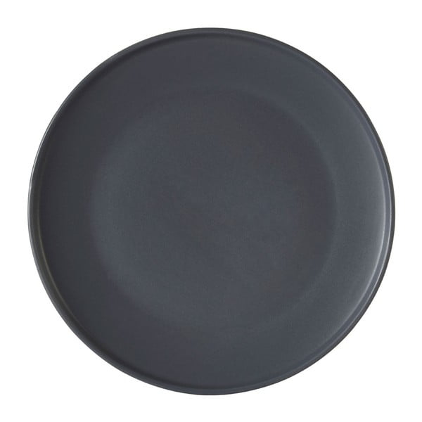 Szary talerz z kamionki Premier Housewares Malmo, Ø 18 cm