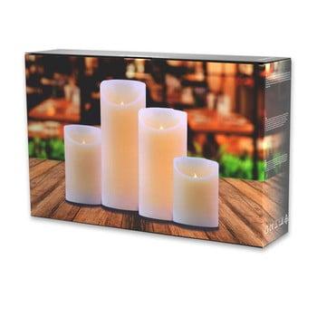 Set 4 lumânări luminoase DecoKing Subtle Sweet de la DecoKing