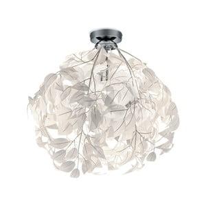 Bílé stropní svítidlo Trio Leavy, výška 58 cm