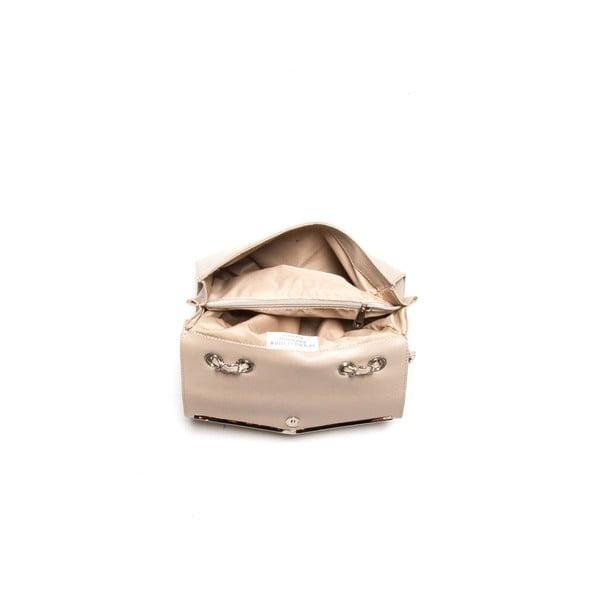 Kožená kabelka Luisa Vanini 420 Fango