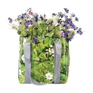 Zelená nepromokavá taška na květiny Esschert Design Margery