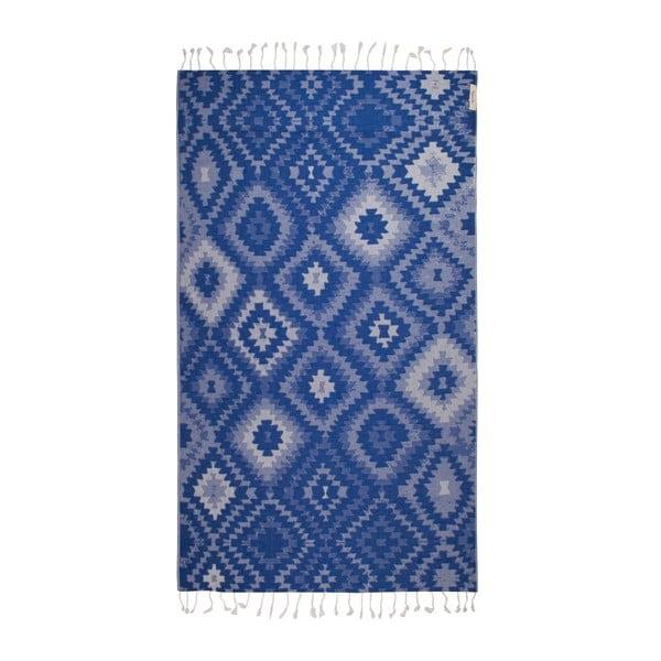 Prosop hammam Vive Blue, 95x180 cm