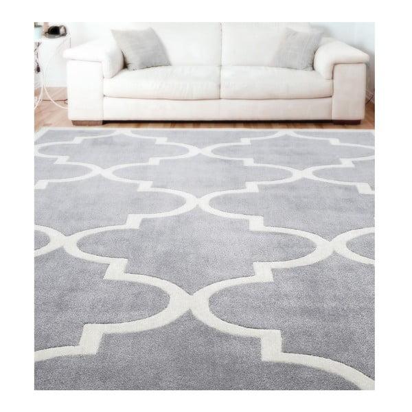 Ručně tuftovaný koberec nuLOOM State Grey, 106x168cm