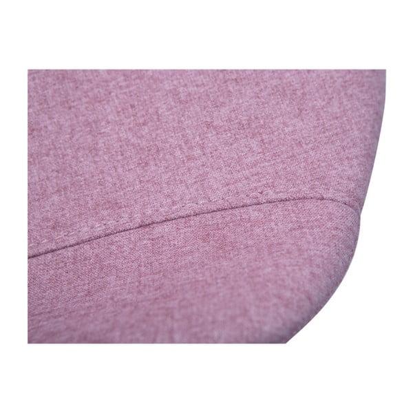 Růžová jídelní židle DAN–FORM Hype
