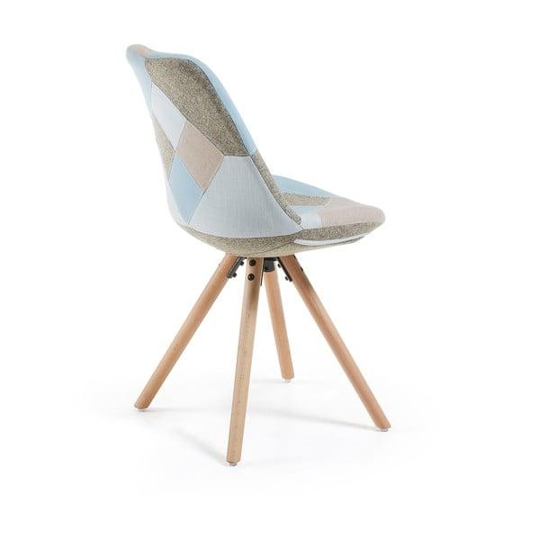 Sada 4 jídelních židlí La Forma Lars Patchwork