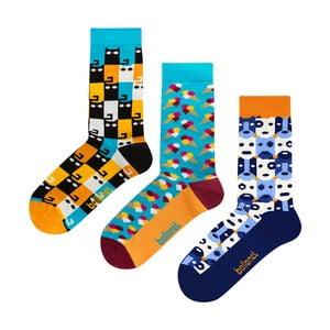 Dárková sada ponožek Ballonet Socks Animal, velikost 41–46