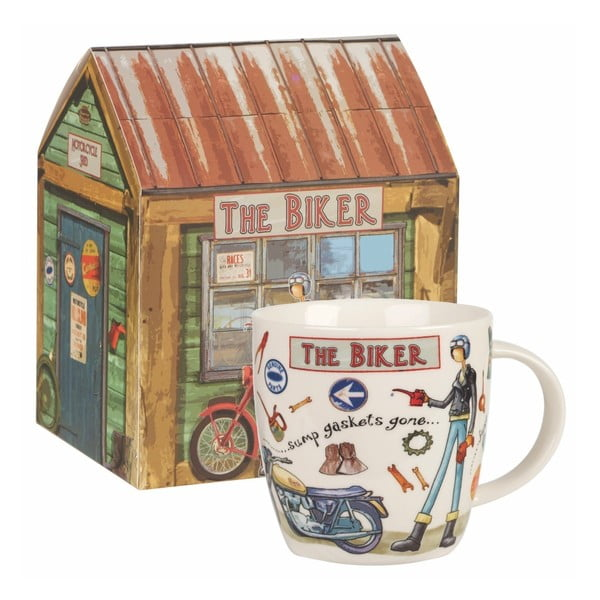 Kubek z porcelany Churchill China The Biker, 400 ml