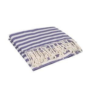 Prosop baie hammam Akkasya Purple, 90x190 cm, mov