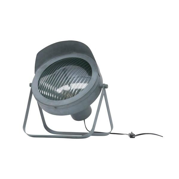 Šedá stolní lampa WOOOD Lester
