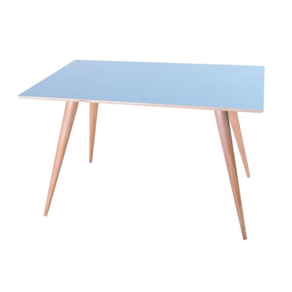 Modrý jídelní stůl Ragaba Planet Rectangular