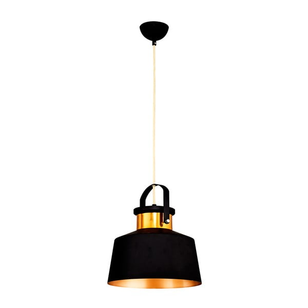 Homemania Beno fekete mennyezeti lámpa