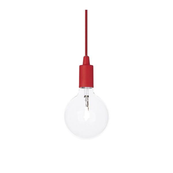 Červené závěsné svítidlo Evergreen Lights Trosa