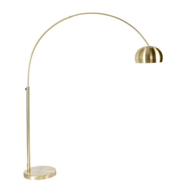 Stojací lampa v mosazné barvě Zuiver Bow