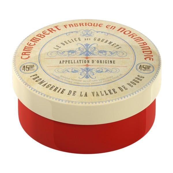Červená zapékací dóza z keramiky Creative Tops Gourmet Cheese