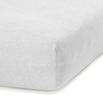 Cearceaf elastic AmeliaHome Ruby, 200 x 80-90 cm, alb imagine