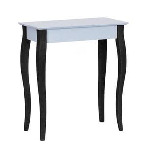 Světle šedý konzolový stolek s černými nohami Ragaba Lilo, šířka 65cm