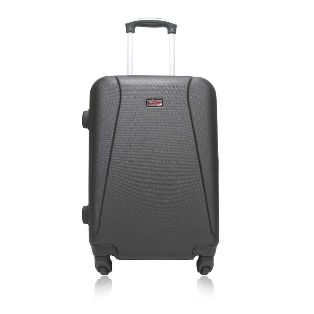 Černý cestovní kufr na kolečkách Hero Lanzarote 1fa527c3db