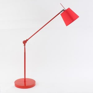 Stolní lampa Red Fabric