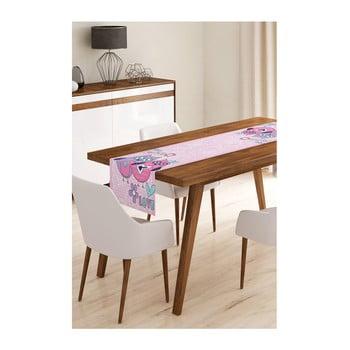 Napron din microfibră pentru masă Minimalist Cushion Covers Owls, 45x145cm de la Minimalist Cushion Covers