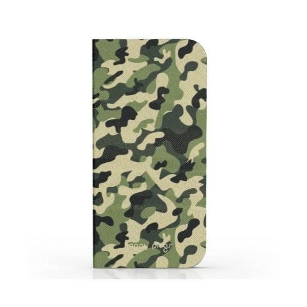 Překlápěcí obal Happy Plugs na iPhone 5 Camouflage