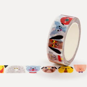 Washi páska U Studio Design Dog Gang, délka 4 m