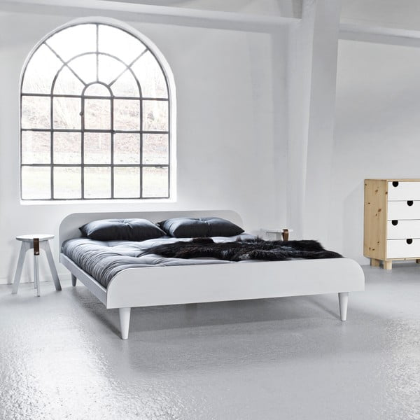 Postel Says Who for Karup Twist White, 160 x 200cm