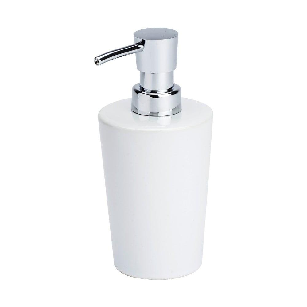 Bílý dávkovač mýdla Wenko Coni