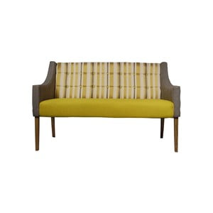Sofa Unusual Scandinavia Yellow/Brown
