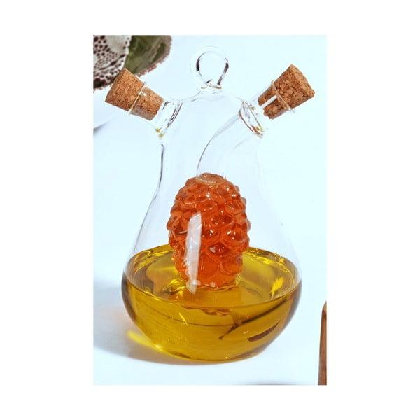 Skleněná láhev na olej Timon