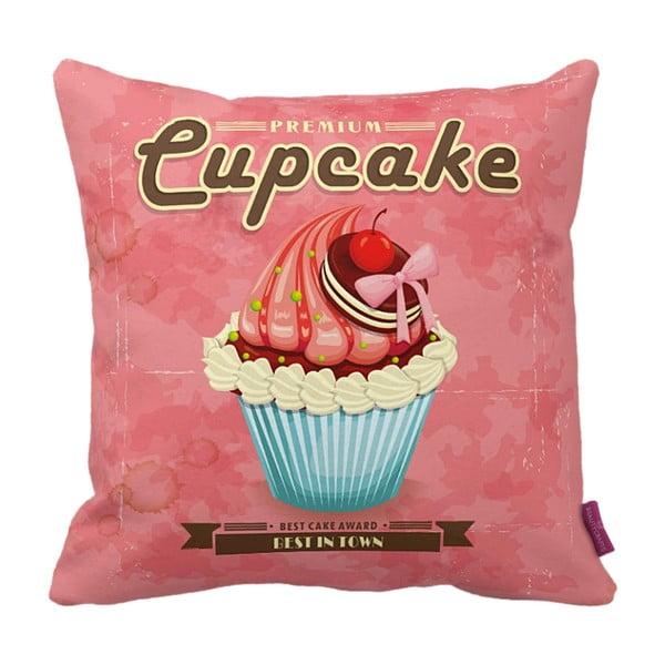 Polštář Pink Cupcake, 43x43 cm