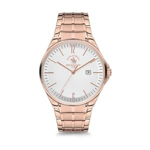 Dámské hodinky v barvě růžového zlata Santa Barbara Polo & Racquet Club Sunny