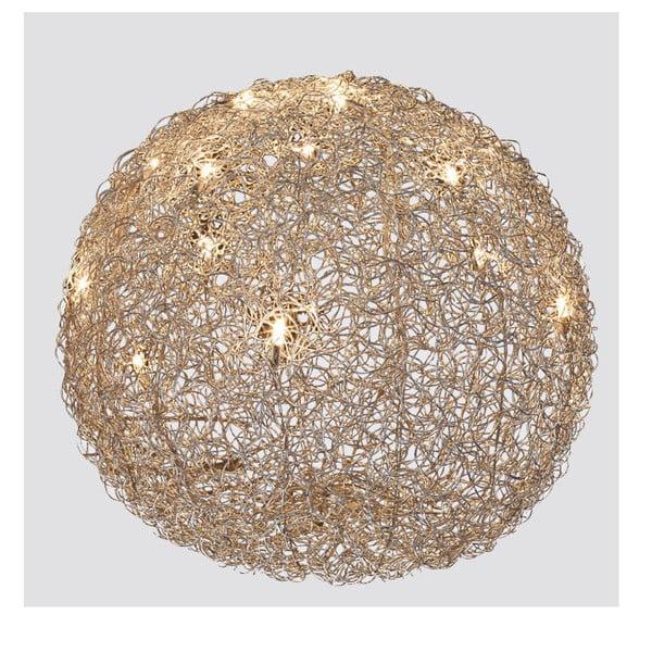 Stolní lampa Almni 60 cm, stříbrná