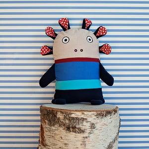 Modrý pyžamožrout Bartex Design, 33x21cm
