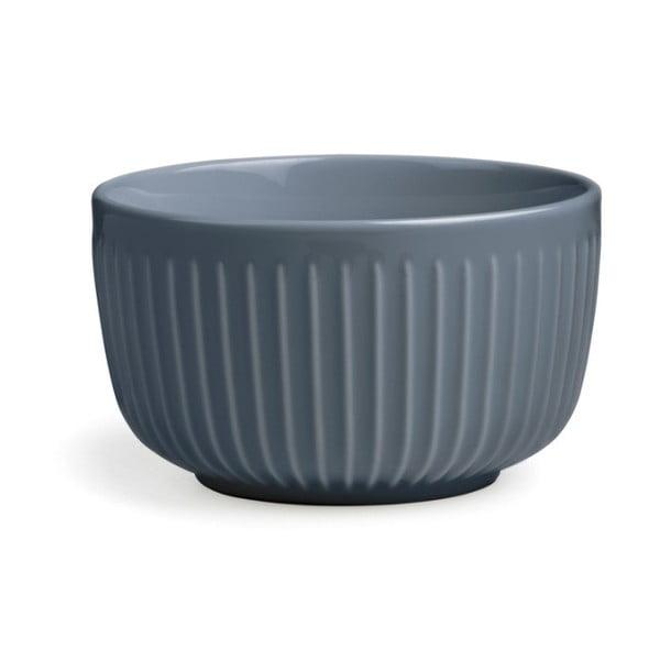 Antracitová porcelánová miska Kähler Design Hammershoi, ⌀ 12 cm