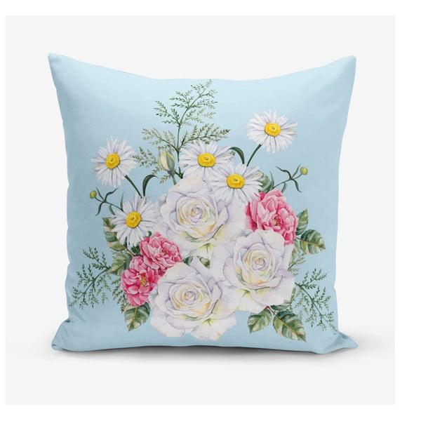 Față de pernă Minimalist Cushion Covers Flowerita, 45 x 45 cm