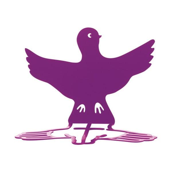 Zarážka na knihy Wingy, fialová, 2 ks