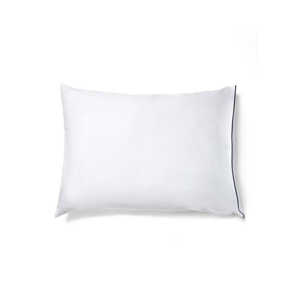 Bílý povlak na polštář z bavlněného saténu Casa Di Bassi Basic, 50x70cm