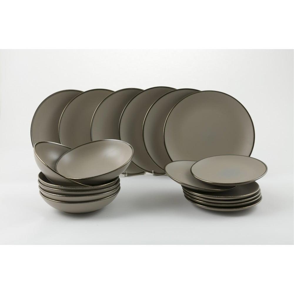 18dílná sada nádobí v krémově béžové barvě Villad'Este Cala Dorada
