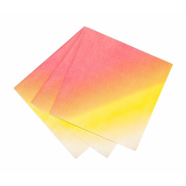 Sada 20 papírových ubrousků Luncheon