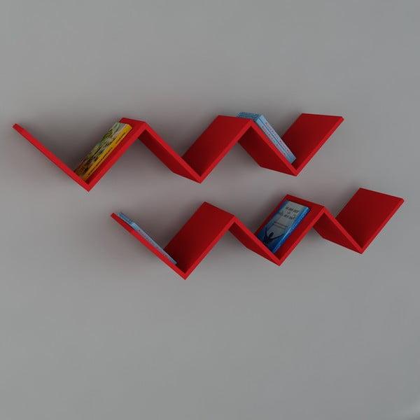Police Zig Zag Red, 22x129x50 cm