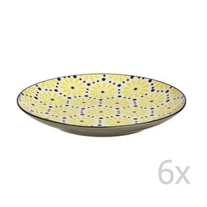 Sada 6 talířů Eden, 20 cm
