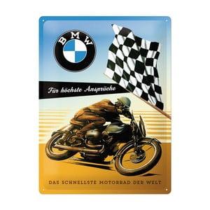 Plechová cedule BMW, 30x40 cm