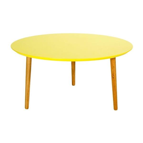 Konferenční stolek Blow Yellow