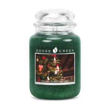 Lumânare parfumată în recipient de sticlă Goose Creek Clasic Christmas Tree, 150 ore de ardere