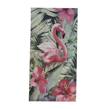 Pictură pe pânză Geese Modern Style Flamingo Uno, 60 x 120 cm