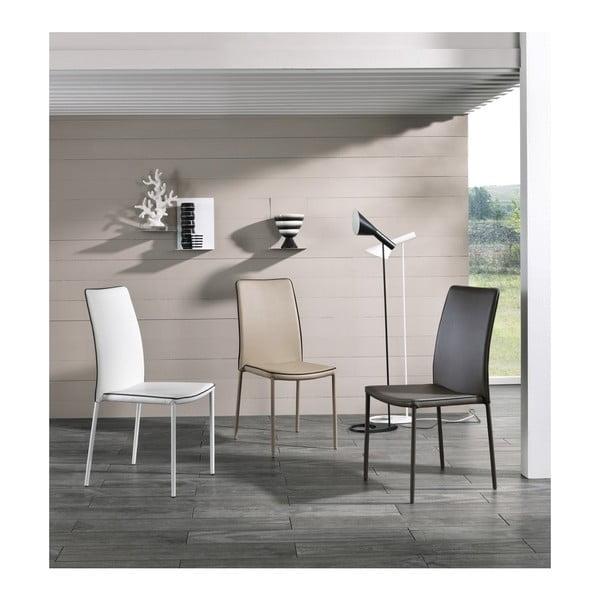 Sada 4 bílých židlí Design Twist Talara