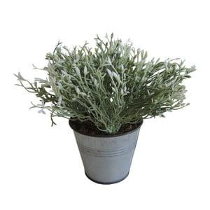 Zelená umělá květina Stardeco, 20 cm
