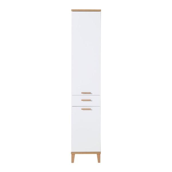 Bílá skříň Germania Tropea, 39 x 201 cm