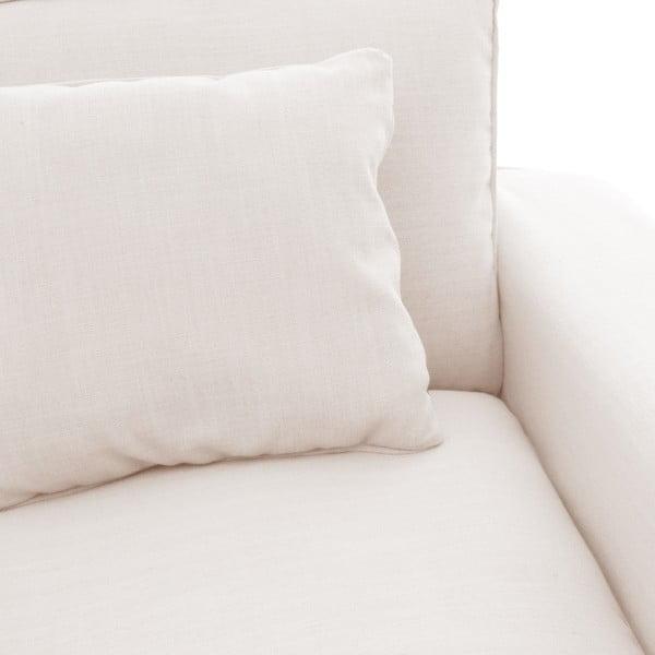 Krémově bílé křeslo Vivonita Jane