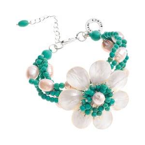 Tyrkysový perlový náramek Ottaviani Floralisima